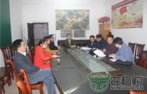 广西农机监督体系规范化建设考核组到金城江区验收