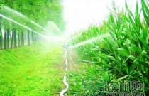 江西2017年将完成20万亩高效节水灌溉