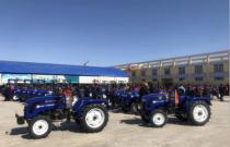 雷沃欧豹拖拉机助力赤峰市退耕还林工程