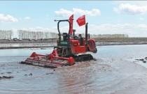 建三江试验水稻生产全过程无人作业