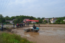 水稻穴播和高效植保机械化技术示范现场会