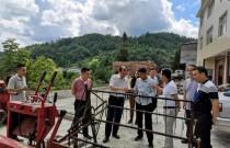 农业农村部农机推广总站领导赴湖北省调研丘陵山区机械化发展