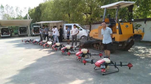 庐江集中办理植保无人机购机补贴