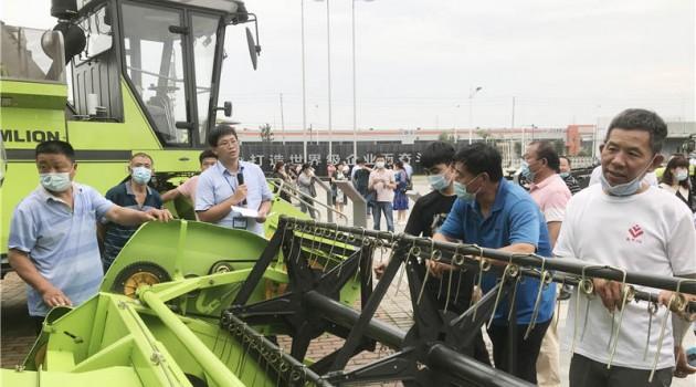 """中联农机办学堂 """"新型农民""""充电忙"""