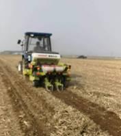 秸秆全量覆盖还田玉米精量免耕播种技术试验示范工作在辽宁扎实推进
