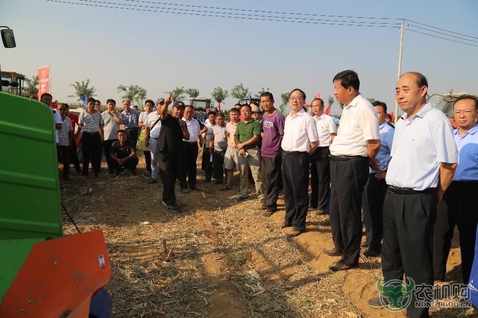 全省玉米生产关键环节机械化技术培训班在泰安举办
